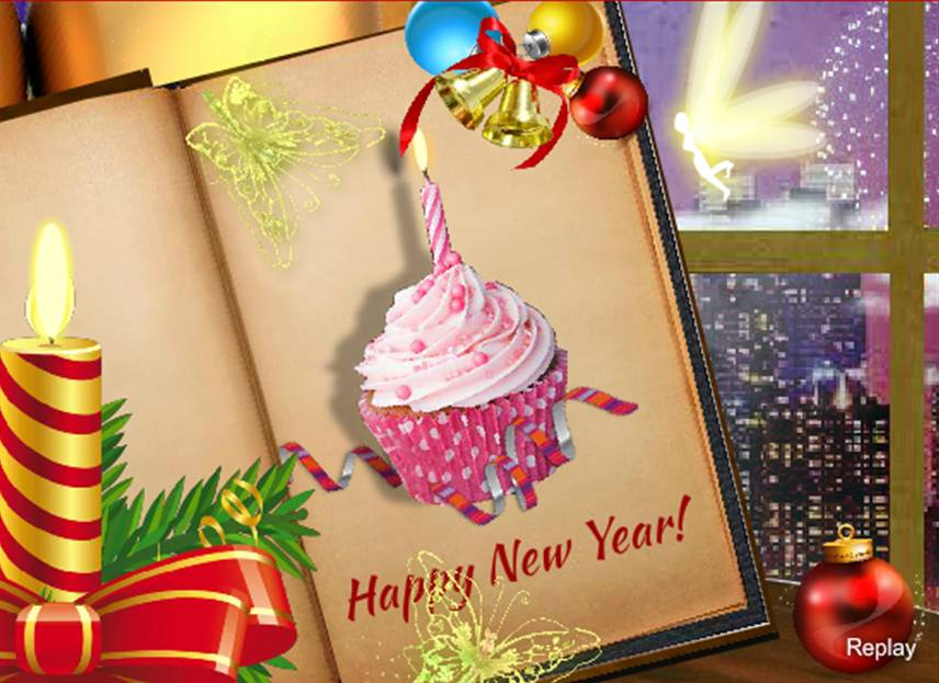 New Year ecard by Jothi