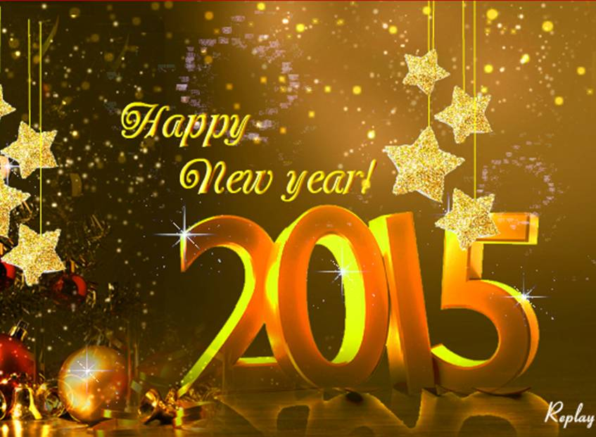 New Year ecard by Sathish Kumar