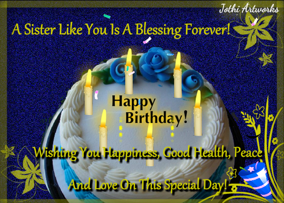 Birthday ecard by Jothi