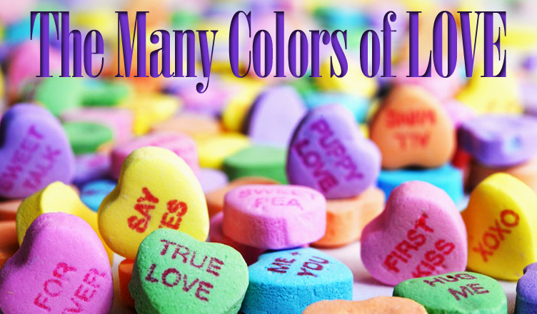 The Many Colors of Love